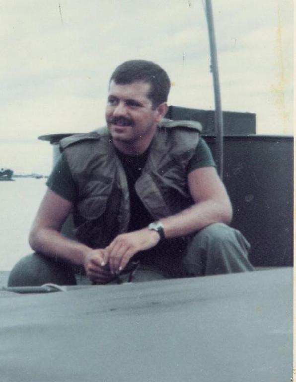 Christian Bachofer COMRIVDIV-92 ..US Navy Vietnam 66-75