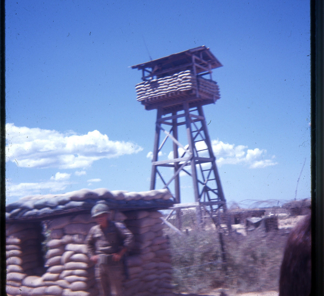 PHU HIEP ARMY COMPOUND GUARD TOWER
