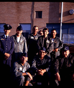 My first love was the USAF ..These are some of the guys I flew with. as a Flight Nurse..then lost my heart to the Grunts and Leathernecks and transfered to the ARMY NURSE CORPS to serve in-country Vietnam