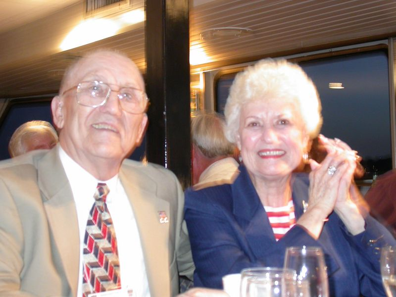 General Robbie Risner..lovely wife Dottie