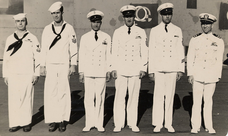 1947:  January 15th; LtCdr Ken Sederquist, Commanding Officer of Fleet Aircraft Service Squadron 116 at Barber's Point in Oahu, Hawaii - with the Flight Crew