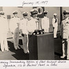 1947:  January 15th; LtCdr Ken Sederquist Becoming Commanding Officer of Fleet Aircraft Service Squadron 116 at Barber's Point in Oahu, Hawaii