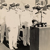 1947:  January 15th; LtCdr Ken Sederquist Becoming Commanding Officer of Fleet Aircraft Service Squadron 116 at Barber's Point in Oahu, Hawaii - accepting the appointment