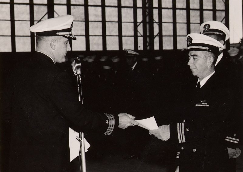 1961: February 4th; Special award at the VT-29 inspection - recognition to LtCdr Ken A. Sederquist
