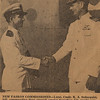 1947:  January 15th; LtCdr Ken Sederquist Becoming Commanding Officer of Fleet Aircraft Service Squadron 116 at Barber's Point in Oahu, Hawaii - Newspaper clip from the Honolulu Adviser