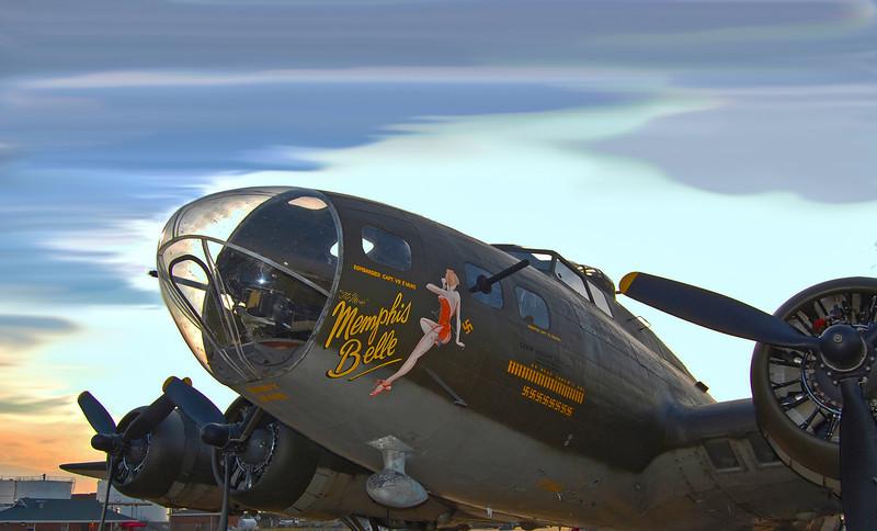 B-17 'Memphis Belle'. 2010