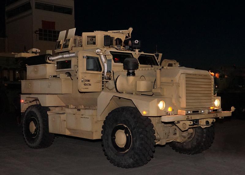 USMC Cougar MRAP. 2018