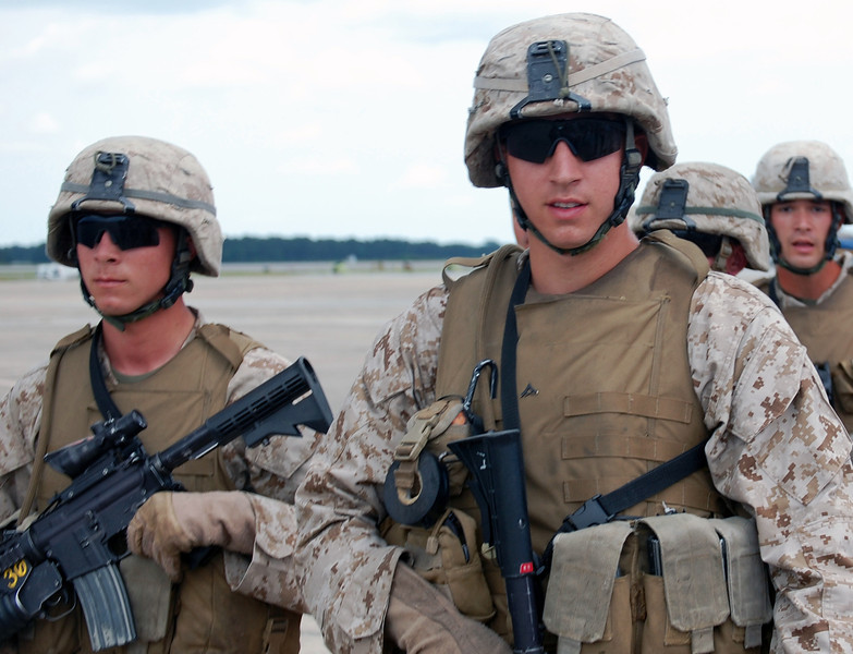 US Marines - Camp Lejeune, NC. 2009