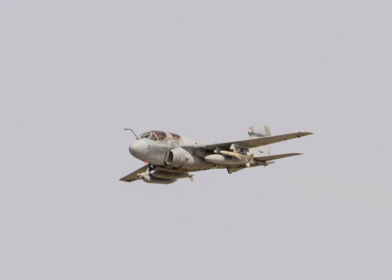 USMC EA-6B Prowler in flight. 2018