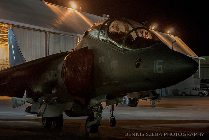 AV-8B Harrier, MCAS Cherry Point. 2018
