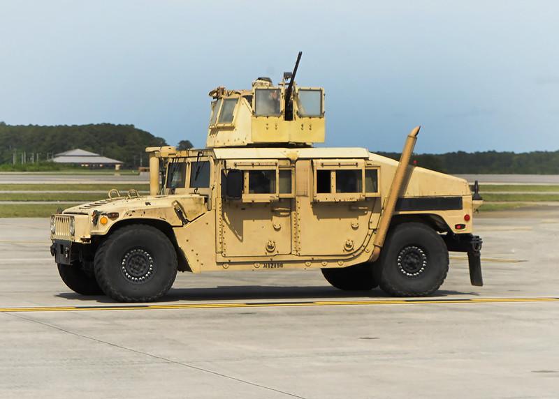 USMC up-armored  'Hummer'. 2018