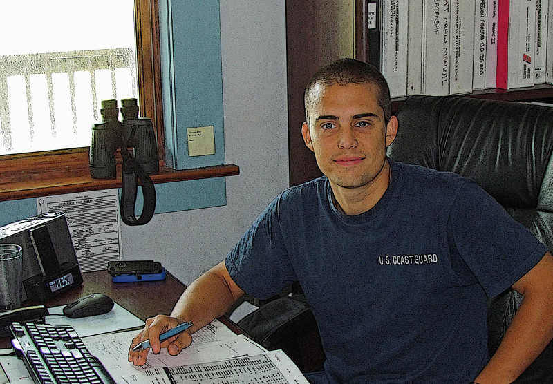Matt was one of my go-to Coasties at his duty station. 2011.