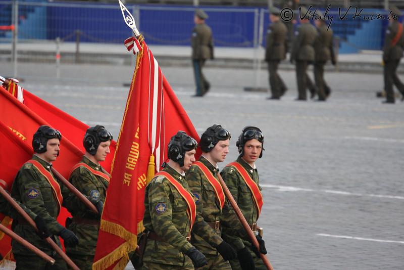 Репетиция на Красной площади (Rehearsal on the red Square)