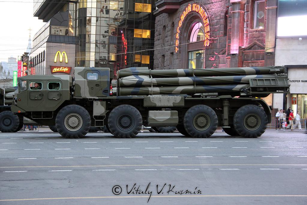 БМ-30 Смерч (BM-30 Smerch MLRS)