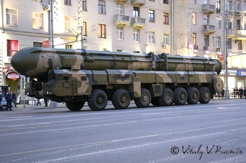 ПГРК Тополь (Topol ICBM)