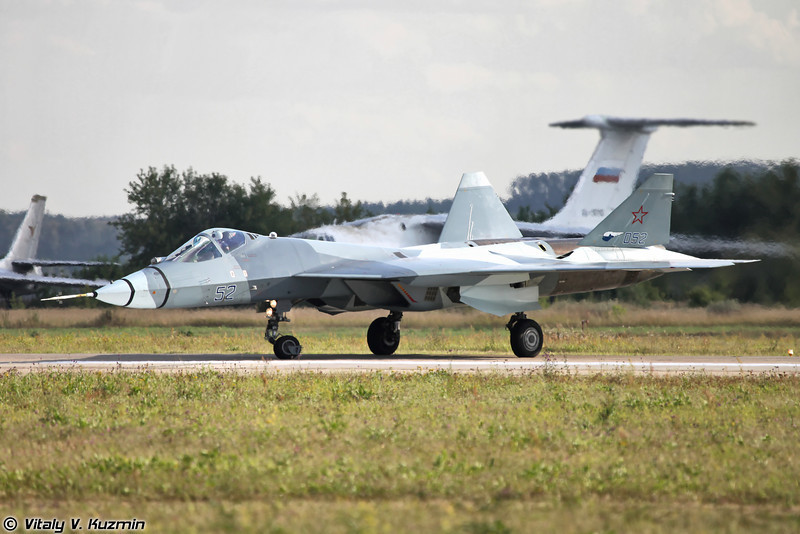 Второй летный прототип Су-57 / Т-50 ПАК ФА б/н 52 (Second flying prototype of Su-57 / T-50 PAK FA b/n 52)