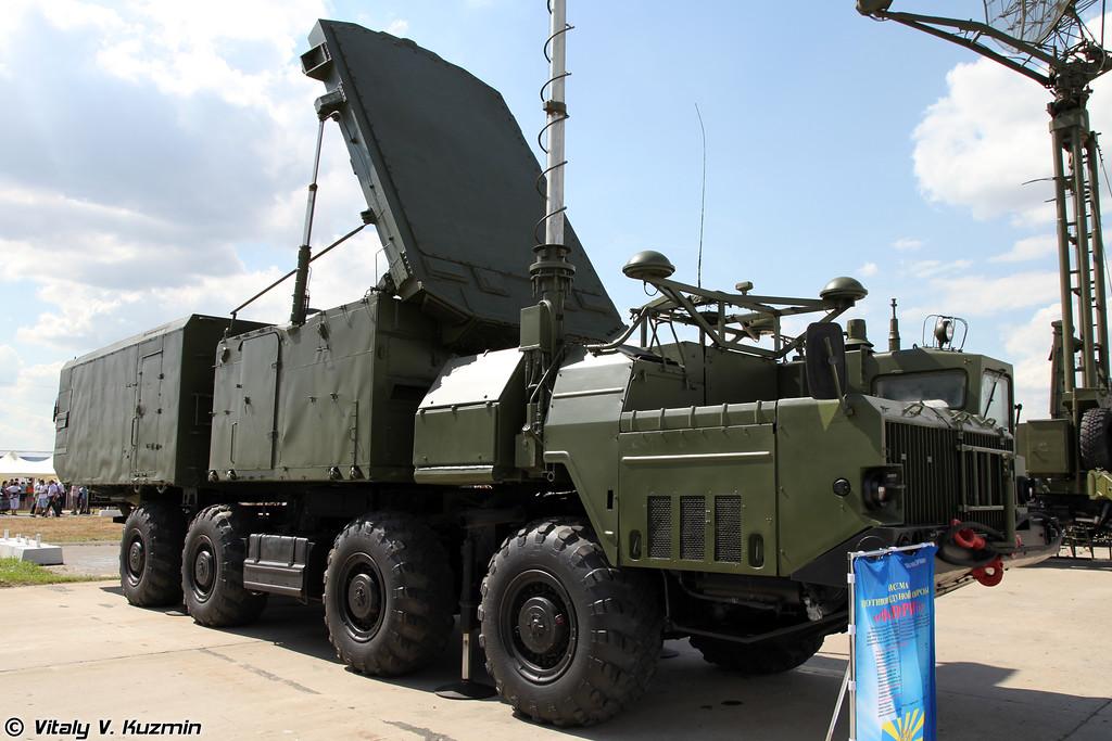 Радиолокатор подсвета и наведения 30Н6Е2 из состава ЗРС С-300ПМУ2 Фаворит (30N6E2 radar from S-300PMU2 system)