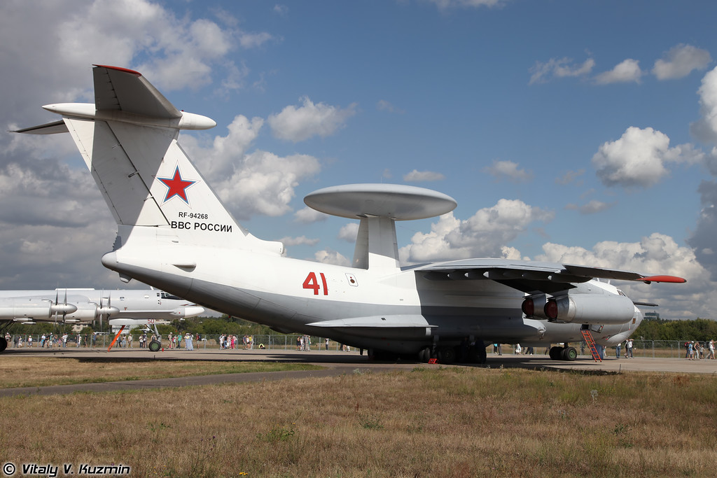 Самолет ДРЛОиУ А-50 (Beriev A-50 airborne warning and control system)