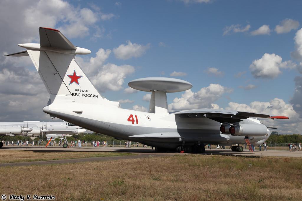 Самолет ДРЛОиУ А-50 (Beriev A-50 airborne warning and control system)