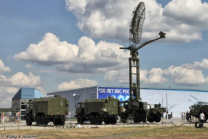 Радиолокационная станция 39Н6Е Каста-2Е2 (39N6E Kasta-2E2 radar)