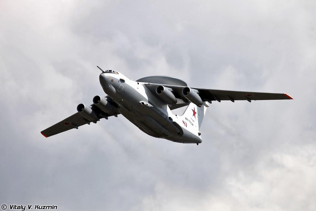 Самолёт дальнего радиолокационного обнаружения и управления А-50У (Airborne warning and control system Beriev A-50U)