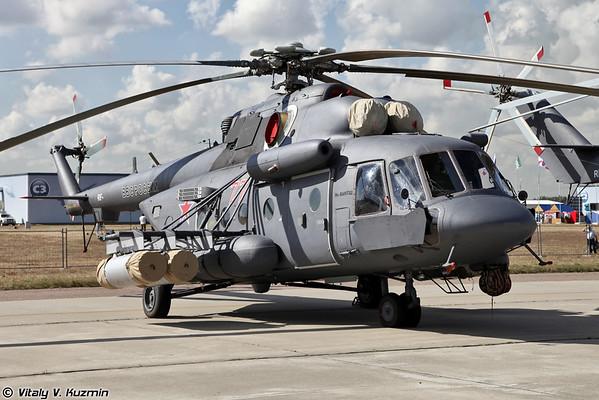 Минобороны РФ получили первую партию модернизированных вертолетов Ми-8АМТШ