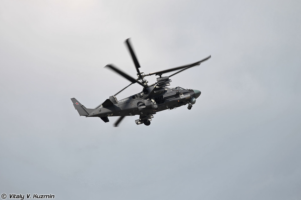 Ка-52 (Kamov Ka-52 Alligator)