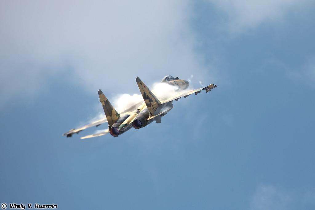 Пилотаж Су-35 (Su-35)