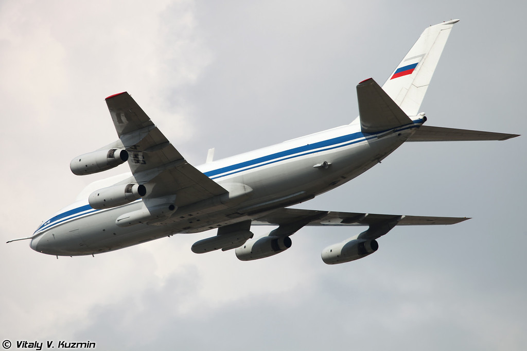 Воздушный командный пункт Ил-86ВКП (Airborne command and control aircraft IL-86VKP)
