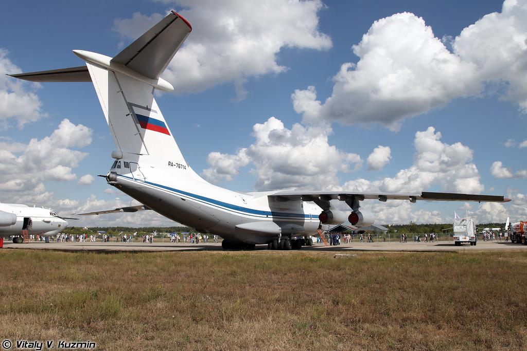 Ил-76МД (Ilyushin IL-76MD)