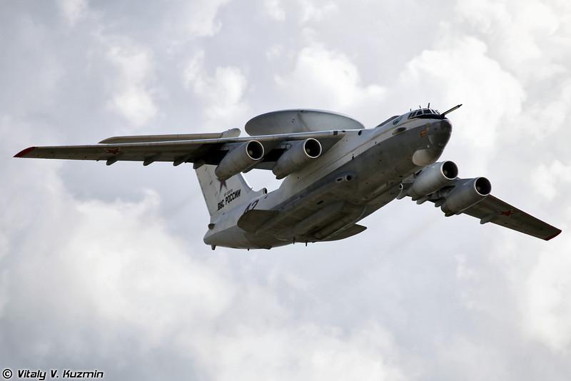 Самолёт дальнего радиолокационного обнаружения и управления А-50 (Airborne warning and control system Beriev A-50)