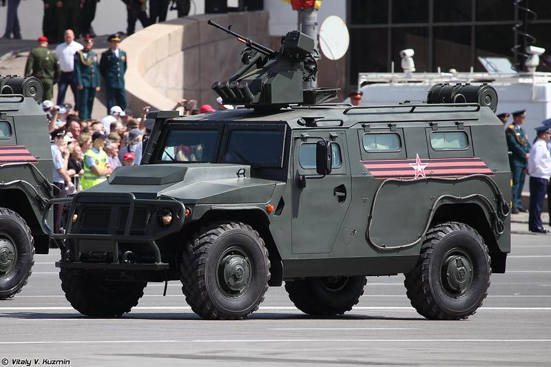 АМН 233114 Тигр-М с боевым модулем Арбалет-ДМ (AMN 233114 Tigr-M with remote weapon station Arbalet-DM)