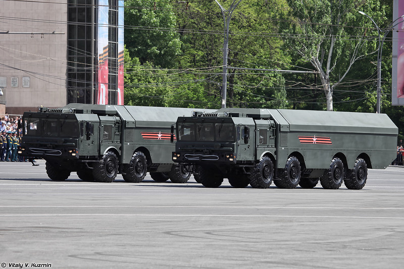 Самоходная пусковая установка К-340П ПБРК К300П Бастион-П (K-340P TEL of K-300P Bastion-P coastal defence missile system)
