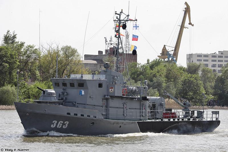 Рейдовый тральщик РТ-234 проекта 10750 Сапфир (RT-234 Lida class / Project 10750 minesweeper)