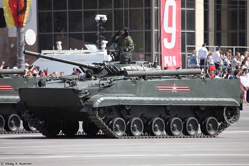 Боевая машина пехоты БМП-3 (BMP-3 infantry fighting vehicle)