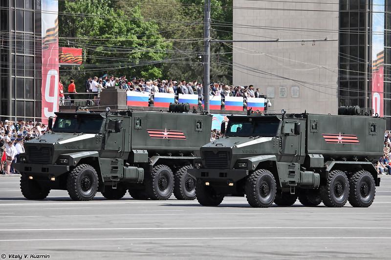 Бронеавтомобиль повышенной защищенности Урал-63095 Тайфун-У (Ural-63095 Typhoon-U)