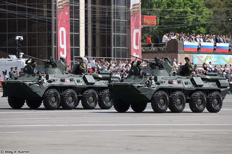 Бронетранспортер БТР-82АМ (BTR-82AM)