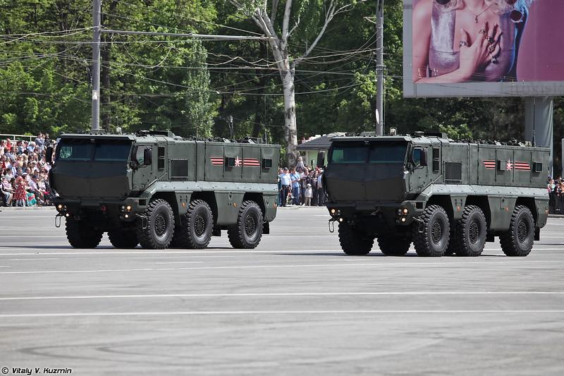 Бронеавтомобиль повышенной защищенности КАМАЗ-63968 Тайфун-К (KAMAZ-63968 Typhoon-K)