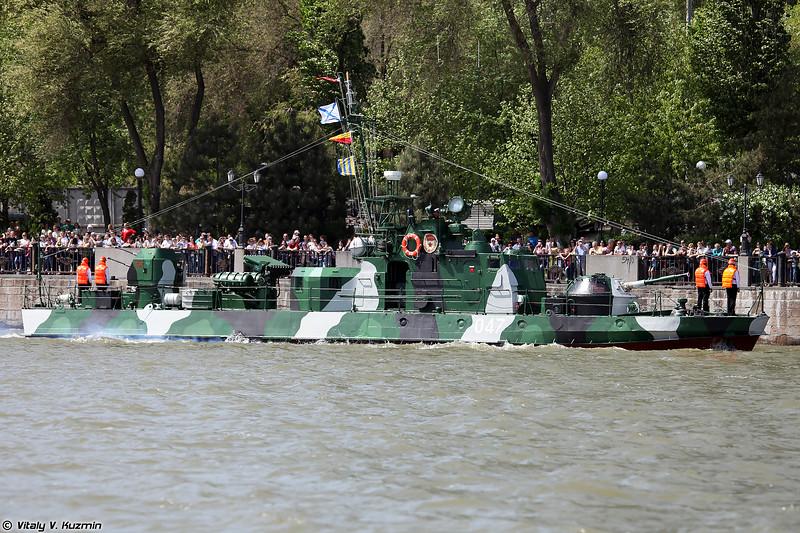 Артиллерийский катер АК-248 проекта 1204 Шмель (AK-248 Shmel class / Project 1204 river gunboat)