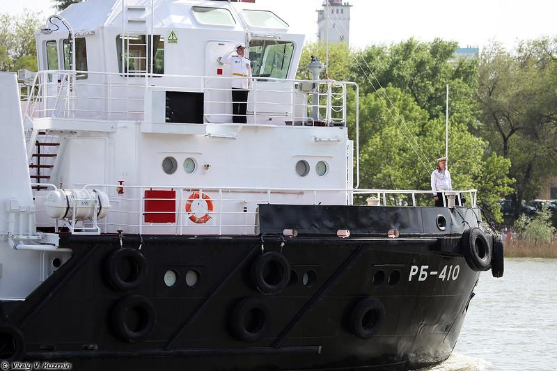 Рейдовый буксир РБ-410 проекта 705Б (RB-410 Project 705B tugboat)
