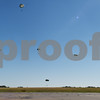 The Liberty Jump team parachutes into Tyler Pounds Regional Airport during Rose City Rotor Fest Saturday Oct. 22, 2016. <br /> <br /> (Sarah A. Miller/Tyler Morning Telegraph)
