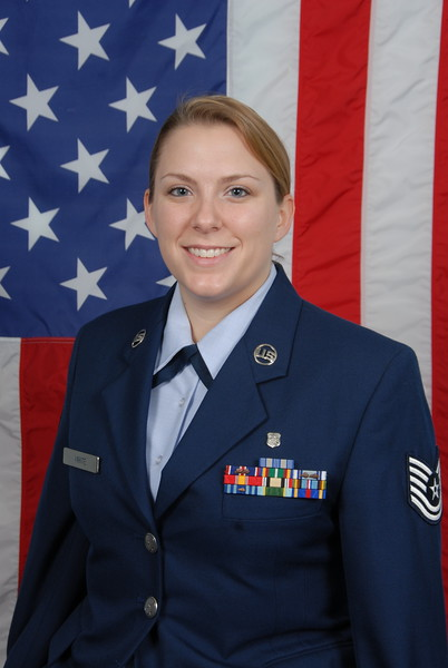Official U.S. Air Force Photograph Tech. Sgt. White