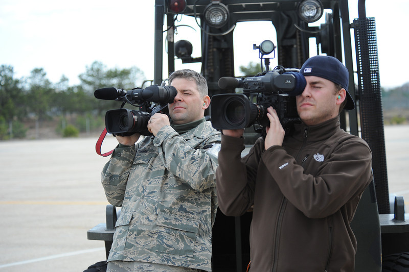 Members of the 106th Rescue Wing arrive at F.S. Gabreski Airport (ANG) on April 4, 2009, after being deployed to Afghanistan. The Airmen who returned consisted mostly of Pararescuemen from the 103rd Rescue Wing, but also included important support staff from other sections of the base. The Airmen arrived in a C17, and after being greeted by Wing Commander Col. Michael F. Canders, and their families, they went to the dining facility for a short celebration and debrief. <br /> <br /> (U.S. Airforce photo/Staff Sgt. David J. Murphy)	<br /> <br /> Released by Capt. Alexander Q. Spencer