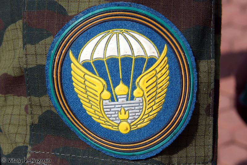 Нарукавный знак 106 воздушно-десантной дивизии (106 Tula airborne division patch)