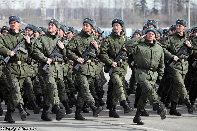 Прохождение торжественным маршем (Marching)