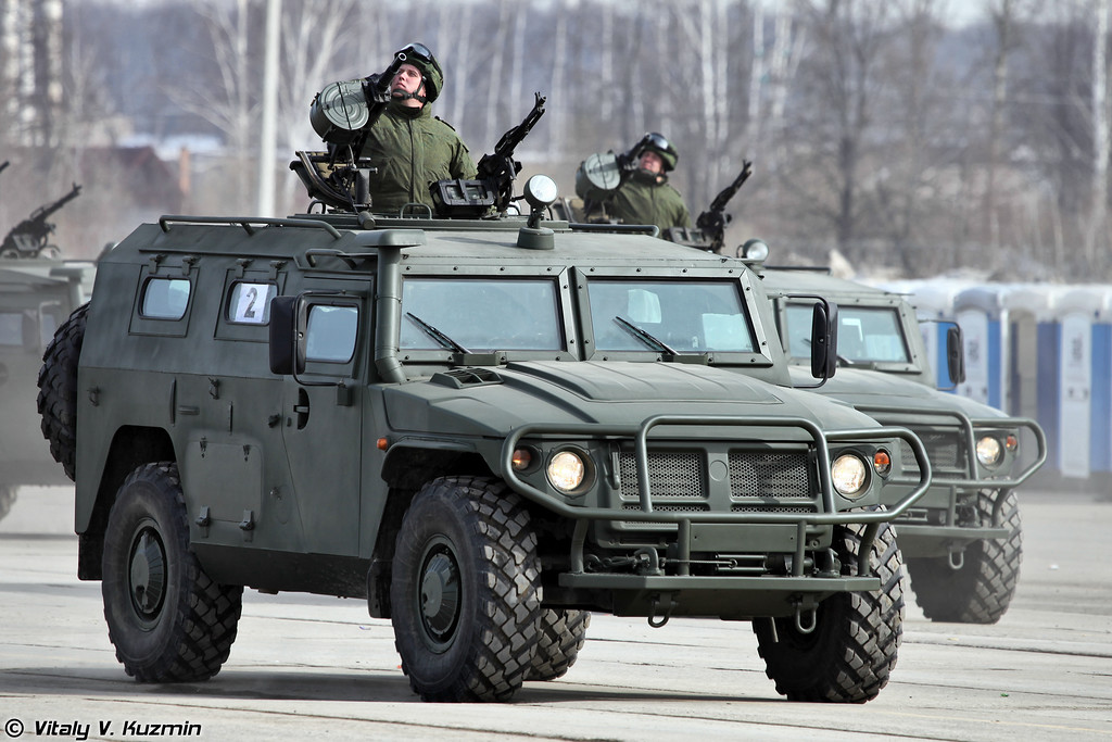 СТС ГАЗ-233014 Тигр (GAZ-233014 Tigr)