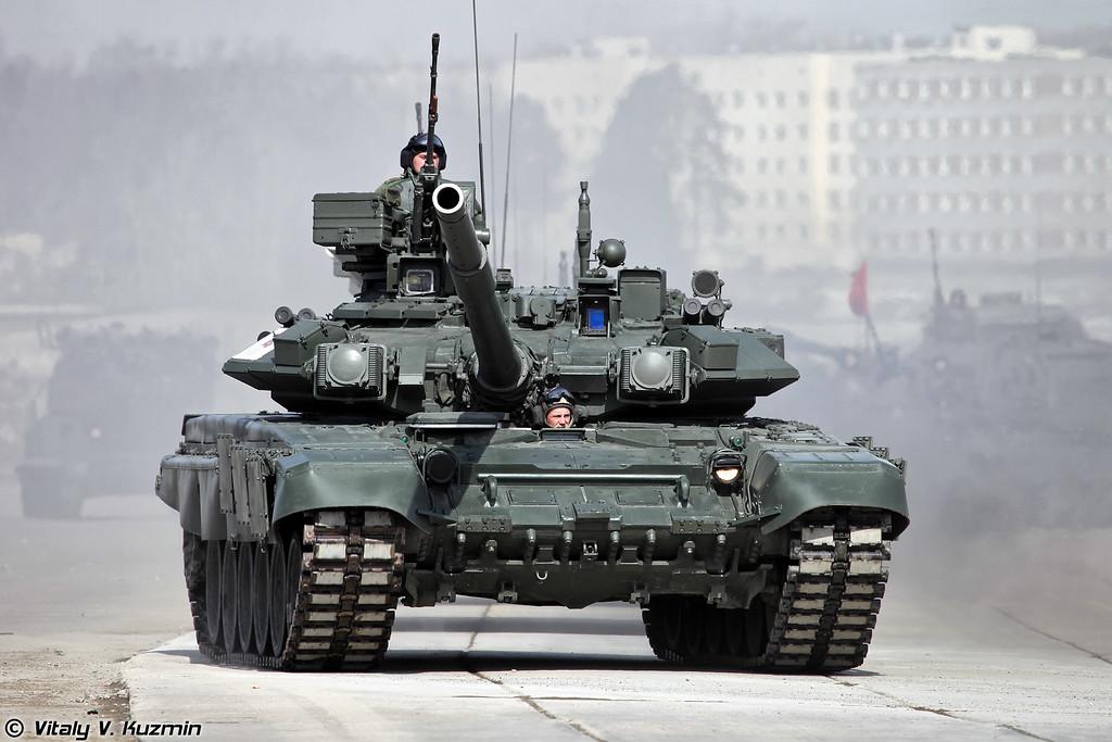 Танк Т-90А (T-90A MBT)