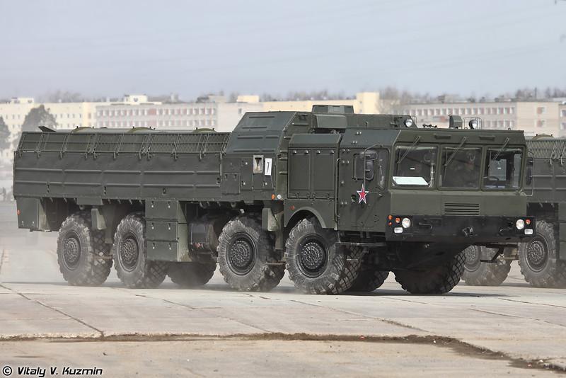 ОТРК Искандер-М (Iskander-M missile system)