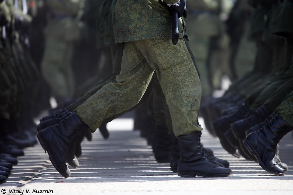 ВДВ России представлены 217-м и 331-м парашютно-десантными полками 98-й гвардейской воздушно-десантной дивизии (Russian Airborne troops are represented by 217th and 331st Airborne Regiments of 98th Guards Airborne Division)