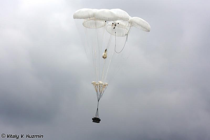 Десантирование БМД-2 (BMD-2 dropping)